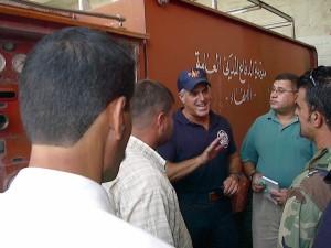 Meeting Kirkuk FF's